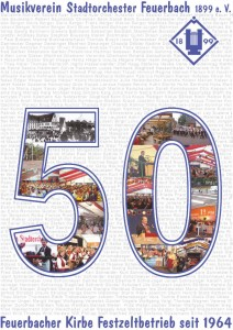 Jubiläumsbroschüre Kirbe 2013 Titelbild
