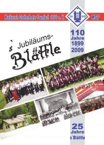Jubiläumsbroschüre Titelbild
